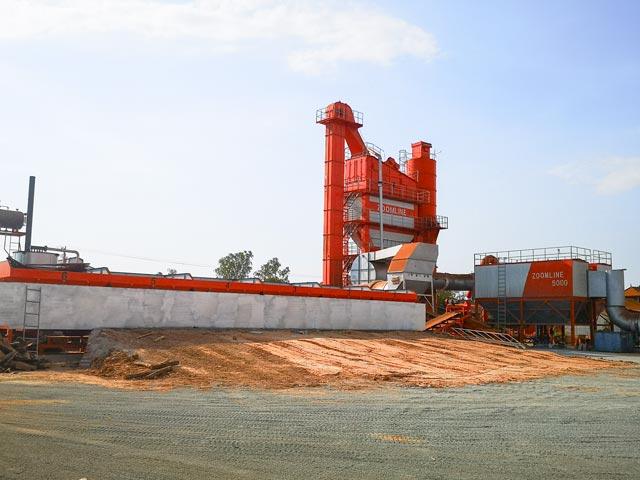 ZAP-S320 Асфальтный завод в Камбоджу