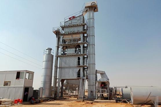 ZAP-S160 Асфальтный Завод в Египете