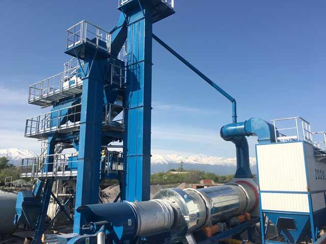 ZAP-S100 Асфальтный Завод в Кыргызстане
