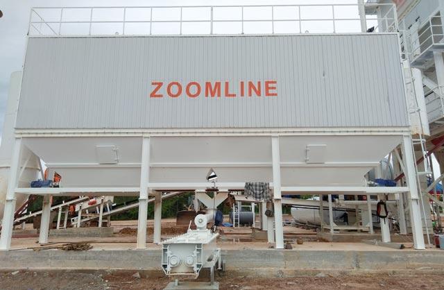 ZAP-S160 Асфальтосмесительная установка в Таиланде