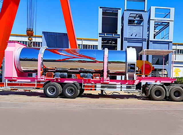 ZAP-M120 120ТН/Ч Мобильный Асфальтный Завод в Таиланде