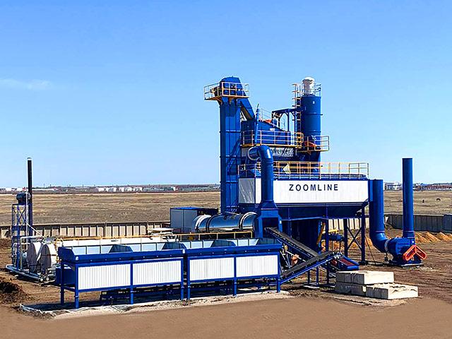 ZAP-S120 Асфальтосмесительная Установка в Казахстане