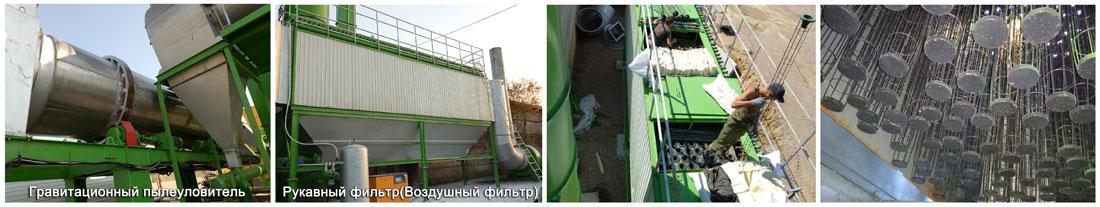 ZAP-S120 Стационарный асфальтобетонный завод в России