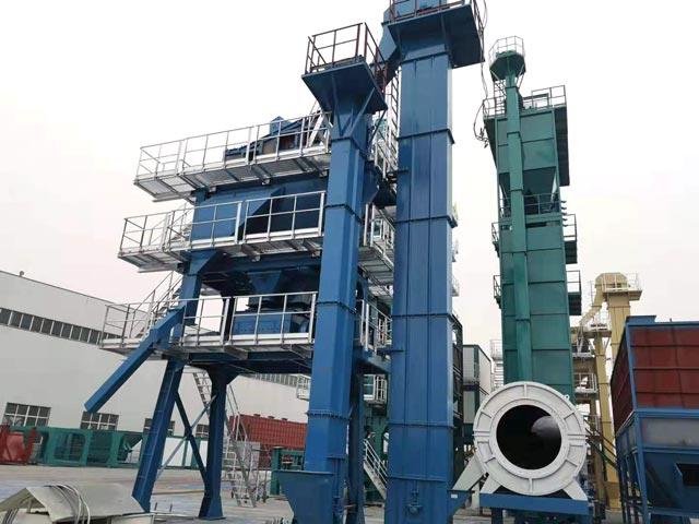 ZAP-S100 Стационарный асфальтный завод отправили в Кыргызстан