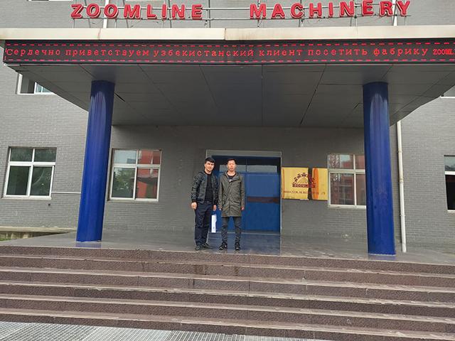 Узбекский клиент посетил АБЗ 80-120ТН/Ч