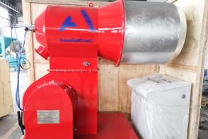 Пылевидная угольная горелка MFR-S1000 для асфальтного завода 80тн/ч отправилась в Казахстан